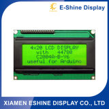 2004 Character Positive LCD COG Module with Yellow Backlight