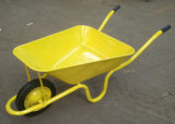 Heavy Duty Concrete Wheel Barrow with 65L Tray