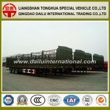 Good Selling High Side Wall Semi Trailer with Stake for Large Bulk Cargo