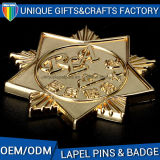 3D Custom Logo Casting Lapel Pin Brass Badge Pin