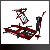 Mini Scissor Type Portable Dual Cylinders Hydraulic Used Car Lift for Sale
