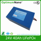 24V 40ah LiFePO4 Lithium Ion E-Scooter Battery Pack
