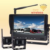 Auto Part 7 Inch Monitor Wireless CCTV Camera System