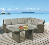 2015 Polyrattan Outdoor Furniture Sofa Set for Rattan Furniture