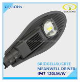 50W Bridgelux IP67 LED Street Light with Meanwell Driver