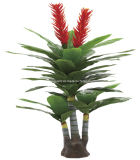 2014 Hot Sell New Design Plastic Indoor and Outdoor Decorative Artificial Plants High Imitation Model 0076-Yy41