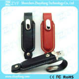 Ce FCC Approved Leather USB Flash Drive (ZYF1405)