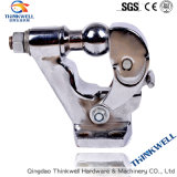 Forged Chrome Plated Steel Trailer Pintle Ball Hitch