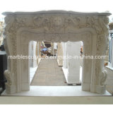Hot Sell Marble Fireplace Mantel (SY-MF195)