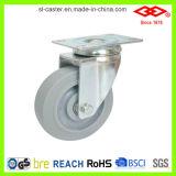 125mm Rotating Rubber Wheel Caster (P120-34FK100X32)