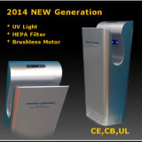 Toilet Touchless Jet Hand Dryer ABS Plastic High Speed Hand Dryer (AK2030)
