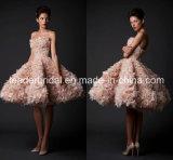 Puffy Cocktail Dress Short Wedding Gown Evening Dresses E1319