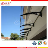 High Strength Canopy Polycarbonate Solid Sheet with UV Protection