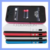 Coloured 2200mAh Battery Case for iPhone 5 External Battery Case Charger