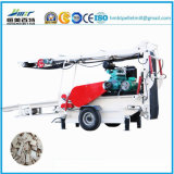 Log Wood and Wood Branch Durm Chipper