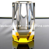 High-End K9 Machine Polished Crystal Pen Holder