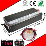 2000W DC-AC Inverter 12VDC/24VDC to 110VAC/220VAC Pure Sine Wave Inverter