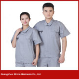 Custom Made Short Sleeve Working Garments for Summer (W212)