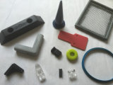 Molded Thermoplastic, Silicone Rubber Part