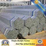 Hot Dipped Galvanized Steel Pipe Post and Rail Fencing