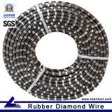 Premium Rubber Coated Diamond Rope for Stone Quarry