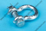 Galvanized Steel European Type Large Bow Shackle