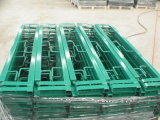 Powder Coated Square Steel Tube Type Guardrails for Garden Use