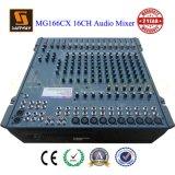 16 CH PRO Performance DJ Audio Mixer (MG166CX)