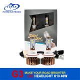 Golden LED Headlight 30W 3000lm 40W 3600lm Factory Wholesales