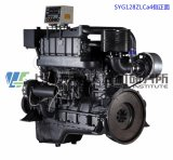 Main Engine. G128 Marine Diesel Engine. Shanghai Dongfeng Diesel Engine. 236kw, 1500rpm