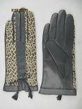 Lady Fashion Leather Gloves (JYG-24016)