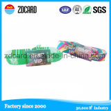 Hot Sale Promotion Give Away Gift Fabric Textile Woven Wristbands