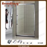 Simple Stainless Steel Frame Shower Screen in Bathroom (SJ-L640)