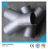 45 Degree Lateral Pipe Branch Y Type Stainless Steel Tee