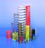 Customized Compression Spring, Coil Spring, Stainless Steel Wire Zinc Nickle Plated Spring (CS-01)