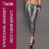 Snake Tight Shine Liquid Metallic Women Trousers (L9621-2)