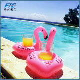 Holiday Party PVC Inflatable Floating Flamingo Can Holder