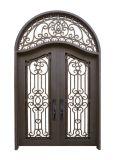 Wrought Iron Doors with Door Transom