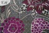 Dubai Purple Chenille Fabric for Sofa (fth31887A)