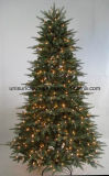 Pre-Deco Colorful Christmas Tree with LED Lights in Different Material (OEM welcome)