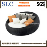 Rattan Outdoor Daybed/Outdoor Round Wicker Lounger/Popular Wicker Lounge (SC-FT013)