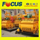 Light Weight Js500 Twin Shaft Electric Mini Concrete Mixer Manufacturer