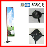 Flag Pole System for Advertising Indoor or Outdoor