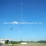 30m Customized Galvanized Steel Guyed WiFi Telecom Tower