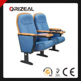 Orizeal Office Conference Room Chairs with Wooden Tablet (OZ-AD-160)