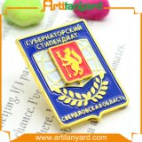 3D Metal Badge Pin with Soft Enamel