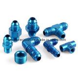Blue Anodizing CNC Turned Bolt Connector
