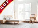 American Oak Home Bed Cloth Hanger Wooden Bedroom Furniture Set