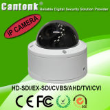 Vandalproof & Weatherproof IR Dome IP Camera