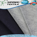 Indigo Yarn Dyed Sweater Knit Denim Fabric